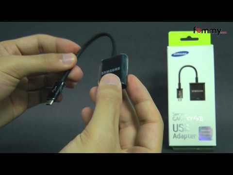 Samsung� (OEM) MicroUSB to USB Adapter