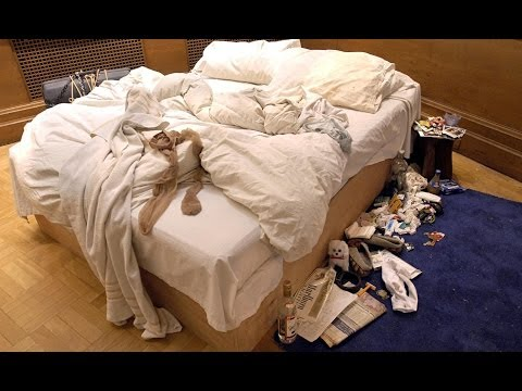 Tracey Emin discusses her bed with Jeremy Paxman - Newsnight
