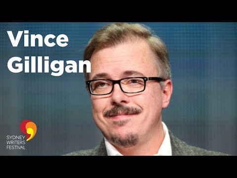 Vince Gilligan, Creator of Breaking Bad Interview with Adam Spencer. Sydney Writers' Festival 2014