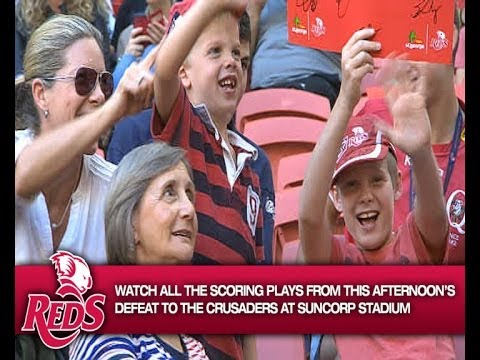 Reds v Crusaders Rd.13 2014 | Super Rugby Video Highlights - Reds v Crusaders Rd.13 2014 | Super Rug