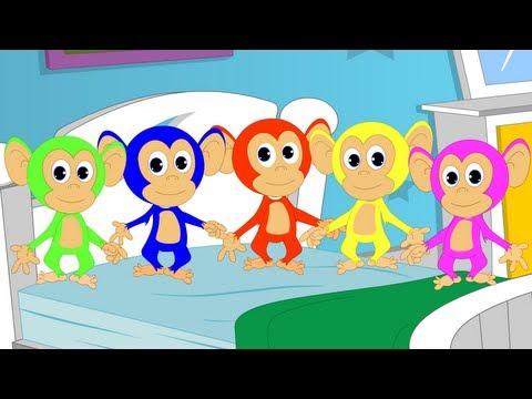 Five Little Monkey Nursery Rhyme