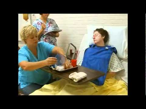 CNA Skill - Feeding Patient - Video