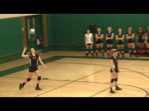 NAC - Plattsburgh Volleyball 10-17-13