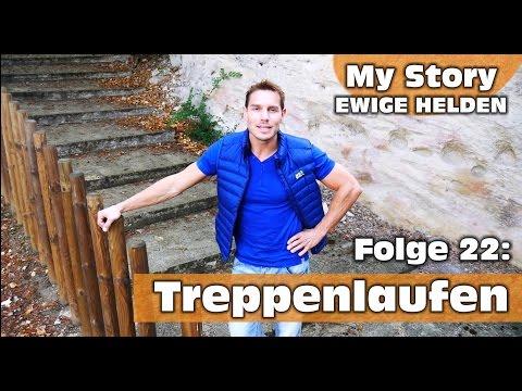 Ewige Helden | Backstage | Folge 22: Konzentration beim Treppenlaufen