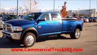 1DF1041 2011 RAM 5500 CUSTOM 9' PICKUP CREW CAB TRUCK FOR