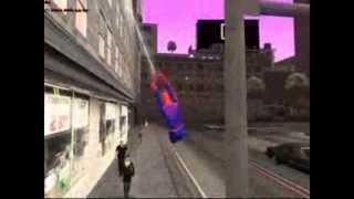 San Andreas Spiderman Web Swinging Mod Released