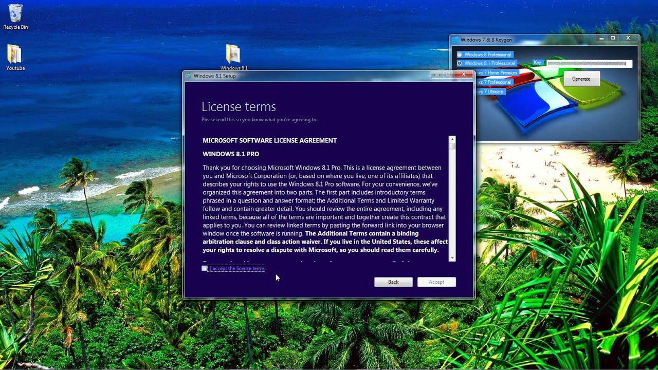 Windows 8.1 Pro Activation Key