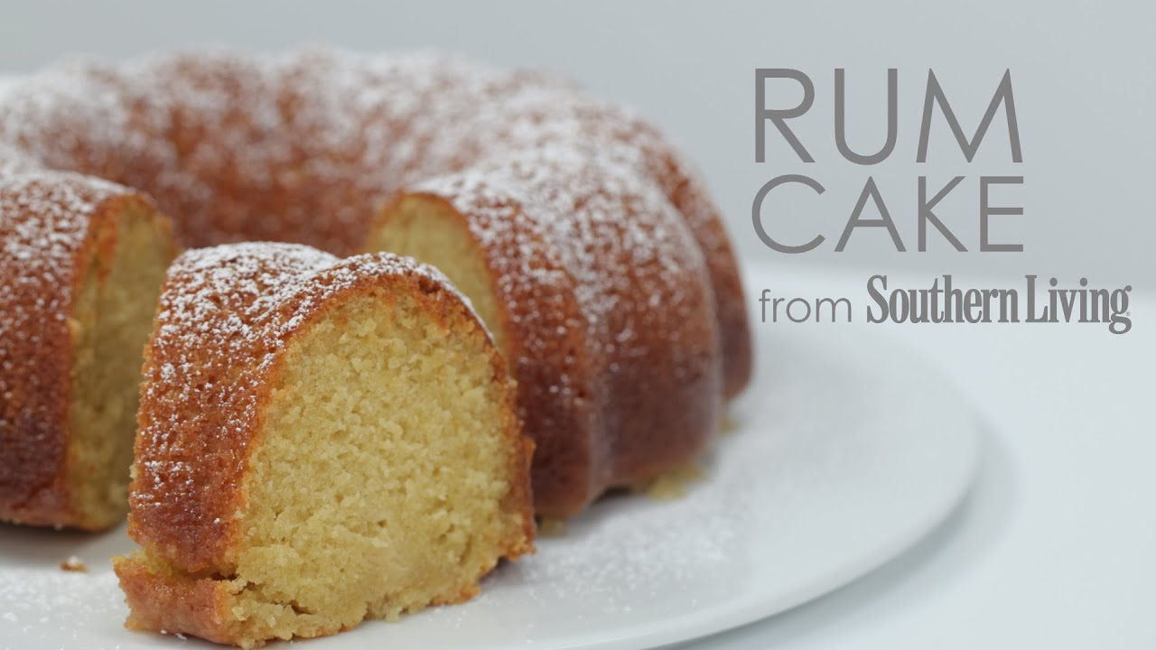 How to Make Classic Rum Cake | MyRecipes - YouTube