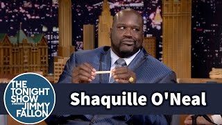 Shaqsticles with Shaquille O'Neal