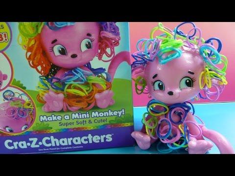 Đồ Chơi Gắn Lông Cho Khỉ Con (Chị Bí Đỏ) Cra Z Bloom Mini Monkey