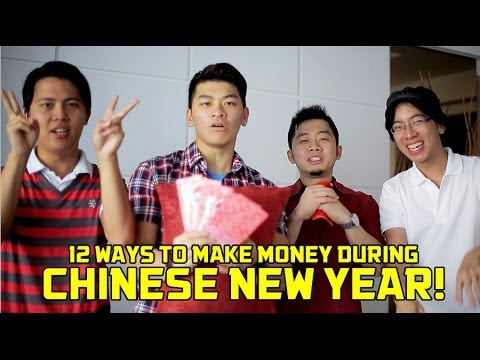 12 Ways To Make Money During Chinese New Year