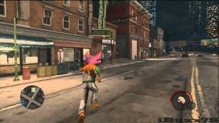 Saints Row: The Third Give Gat Mobile Cheat Activated
