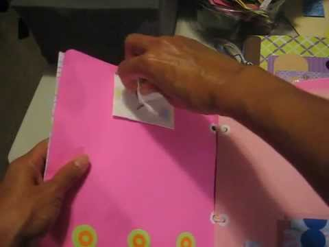 Regalos en papel mini album de fotos youtube - Decoracion de album de fotos ...