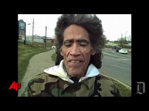 Homeless Man w/Golden Radio Voice In Columbus, OH