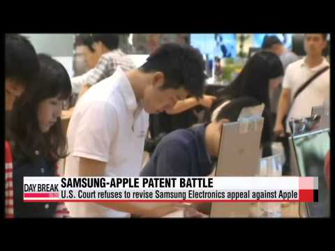 U S  Court refuses to revise Samsung Electronic appeal against Apple