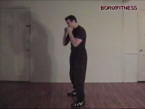 Free Kick Boxing lessons: Uppercut basic beginners