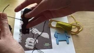 Yarn Butterflies And DIY Bobbins