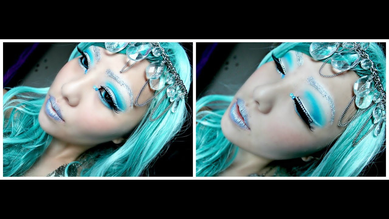 maxresdefault jpgIce Princess Halloween Makeup