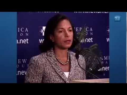Remarks by National Security Advisor Susan Rice on Syria