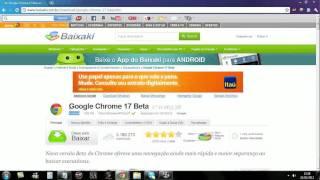 Como Baixar O Google Chrome ATUALIZADO De 2012