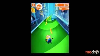Soluce Moi, Moche et Méchant : Minion Rush sur iPhone et Android, niveau 1