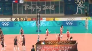 2008 Womens Volleyball USA Vs China