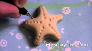 A Clay Starfish Tutorial- By MissClayCreations