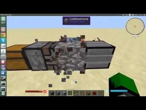 Automated production for Minecraft Chisel Mod (Using OpenBlocks & Thermal Expansion)