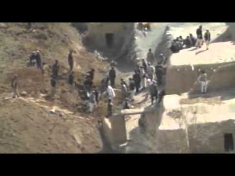Raw: Massive Landslide in Afghanistan