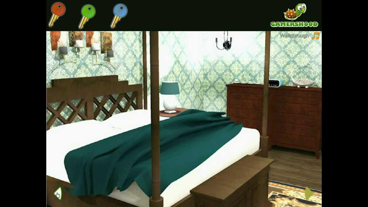 for T bedroom escape walkthrough