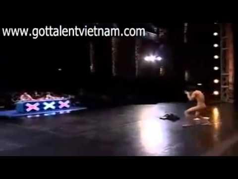 Thailand's Got Talent xuất hiện tài năng    cởi đồ trên sân khấu www gottalentvietnam com