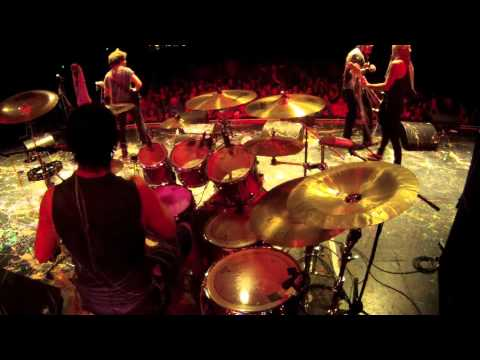 MindFlow: Destructive Device Drum Cam live @ The Wiltern - Take Action Tour 2013