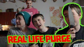 REAL LIFE PURGE!!!