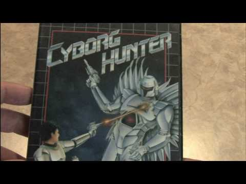 CGR Packaging Review: CYBORG HUNTER packaging and artwork
