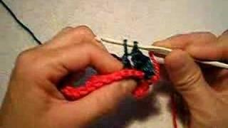 Como Tejer El Punto Relieve Por Atrás En Tejido Crochet