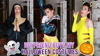 BOYFRIEND BUYS MY HALLOWEEN COSTUMES