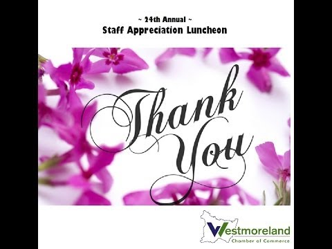Staff Appreciation Luncheon - April 23, 2014