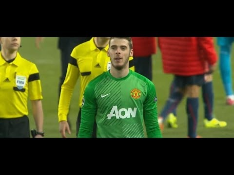 David De Gea Vs. Olympiacos F.C. 13-14 [Home] [HD 720p]