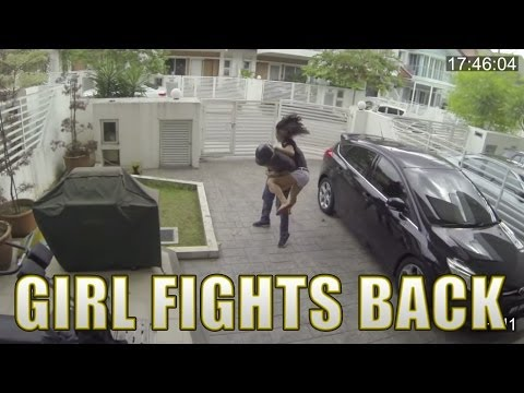 Thumbnail of video Girl fights back snatch thief with a knee to the stomach (de esos videos que dan mucho gusto)