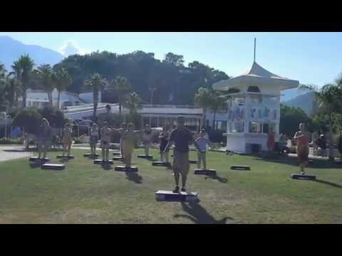 David - STEP AEROBIC  for Amateur Tourists in Holiday.