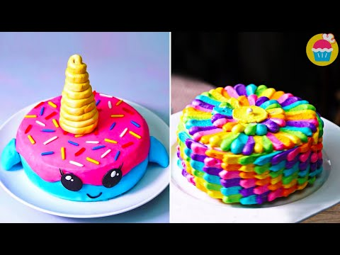 Cake Decorating Ideas | FUN and Easy cake recipes by Nyam Nyam