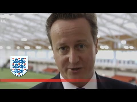 David Cameron wishes good luck to England  | FATV exclusive