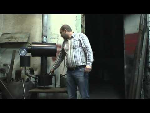 Отопительная печь на дровах своими руками