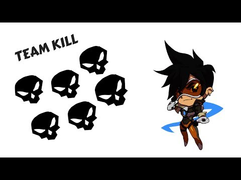 Tracer Team Kill [Overwatch POTG #13]