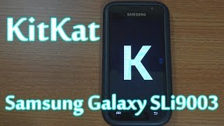 Video How To Install KitKat 4.4 On Samsung Galaxy SL I9003 (CM11