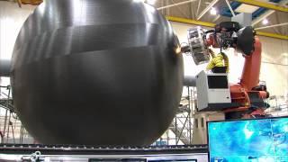 Manufacturing A Large Composite Rocket Fuel Tank