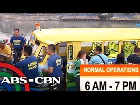 Pasig River ferry system free for one week