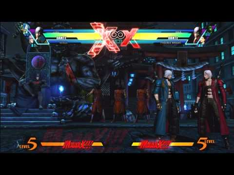 UMvC3 Dante and Vergil Combos