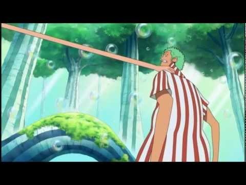 Zoro gets lost, gets mad &amp; gets pulled [ONE PIECE Funny]