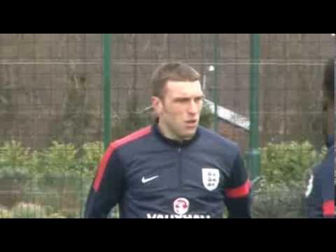 Saints train with England ahead of Denmark friendly